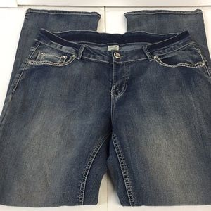 Women's Faded Glory Jeans Size 14A Good Condition